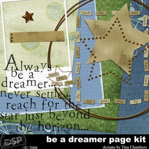 Featured Artist: Tina Chambers from Digital Scrapbook Place