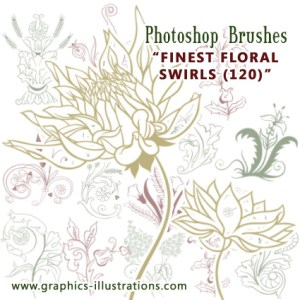 Finally! Finest Floral Swirls Brushes I've Ever Seen