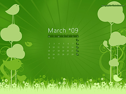 March 2009 Wallpaper