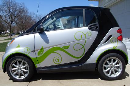 Smart Car Custom Graphics