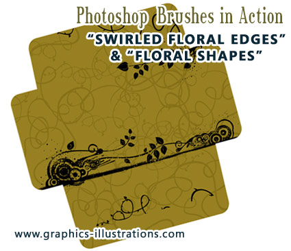 Photoshop Brushes in Action: Envelope Template Design – Download & Print!