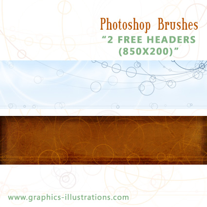 2 free headers download (ZIP)