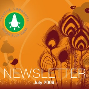 July 2009 GBG Newsletter is Out!