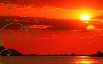 bsilvia postcard sunset front