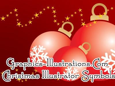 Free Download: Christmas / New Year Illustrator Symbols