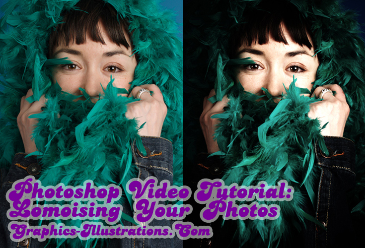 How to Create a Lomo Look in Photoshop - Video Tutorial