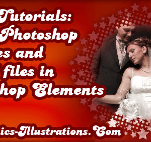 Video Tutorials: Using Photoshop Brushes and PNG files in Photoshop Elements