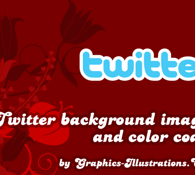 Twitter background images and color codes