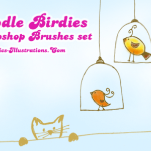 Doodle Birdies Digital Stamps for GBG Members
