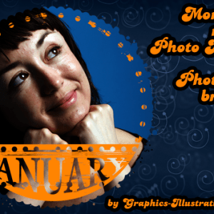 Mark the Month on Your Photo