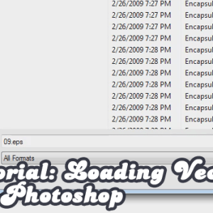 Tutorial: Loading Vectors into Photoshop