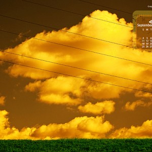 [Free Download] Desktop Wallpaper Calendar: September 2011