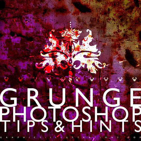 How to Create A Grunge Design in Photoshop [Tips&Hints&More]