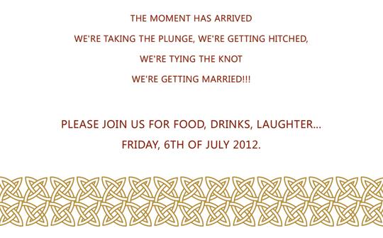 Facebook friends wedding invitation template and stuff stopboris Images