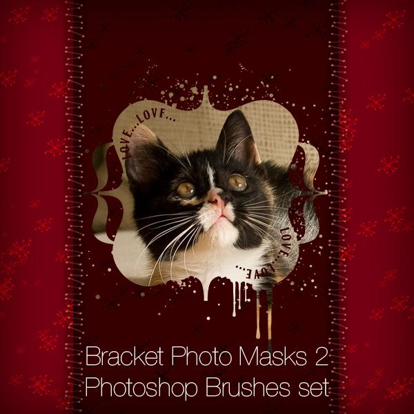 Bracket Photo Masks 2 Photoshop Brushes