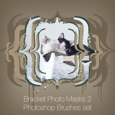 Bracket Photo Masks 2 Photoshop Brushes