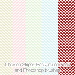 Chevron Stripes Background Pack