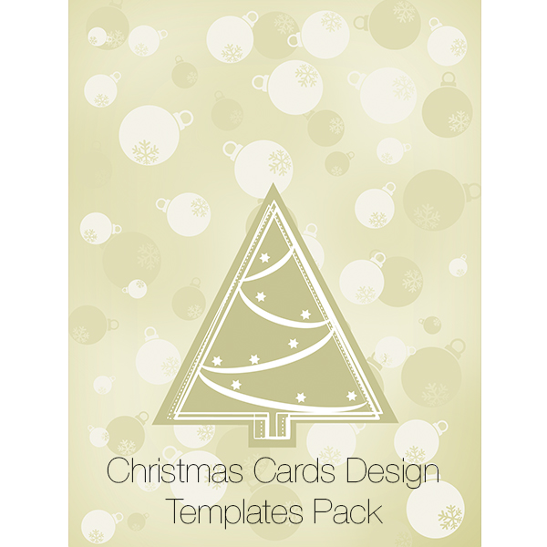 Christmas Cards Design Templates Pack