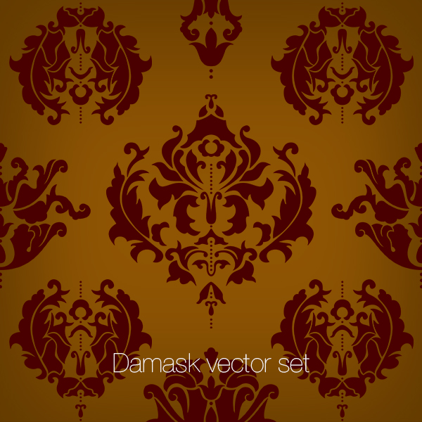 Damask Vector set, Discounted!