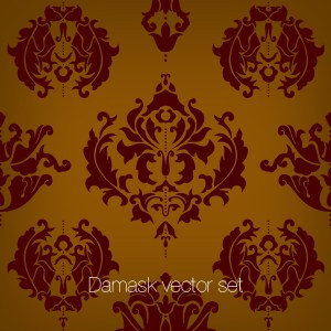Damask Vector set