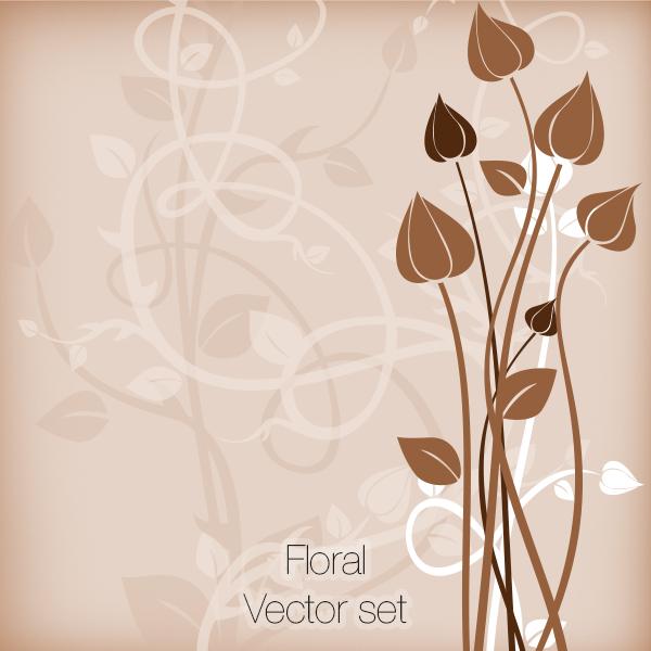 Floral Vector set