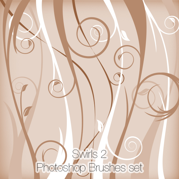 Swirls 2 Photoshop Brushes