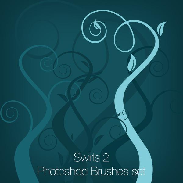 Swirls 2 Photoshop Brushes