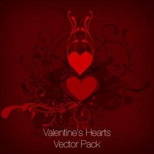 Valentine's Hearts Vector Set