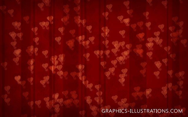 Free Download: Doodle Hearts HiRes Background (3600x3600 pix @300dpi - 12x12 inches)