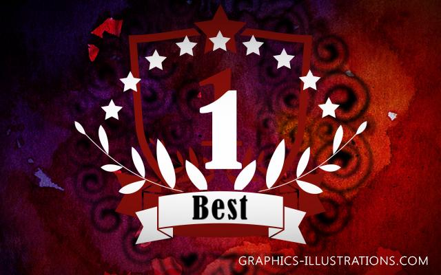 No.1 Emblem Photoshop brushes