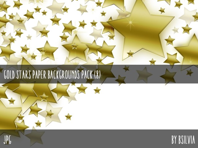 Gold Stars Backgrounds