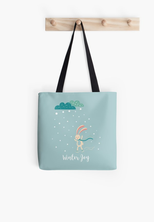 Winter Joy Tote Bag