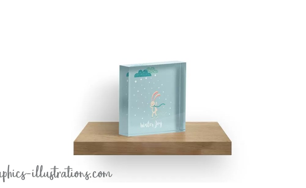 Winter Joy Acrylic Blocks