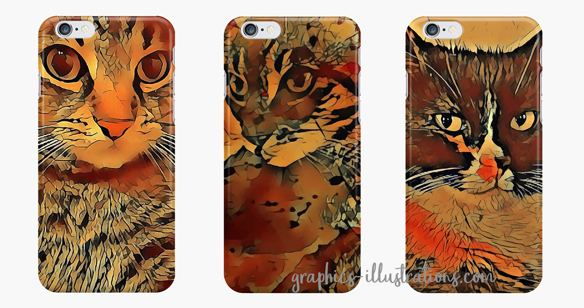 Cats, iPhone Cases - And A Few Words About Happiness
