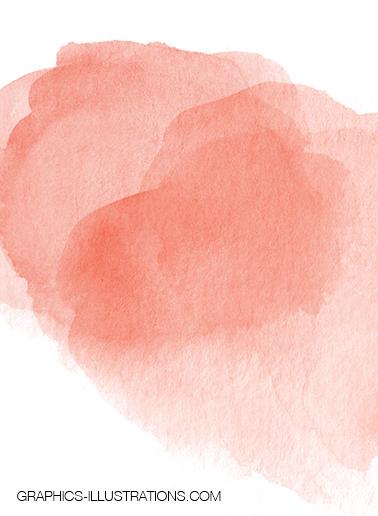 Free Watercolor Shapes, set of 6 watercolor clip art