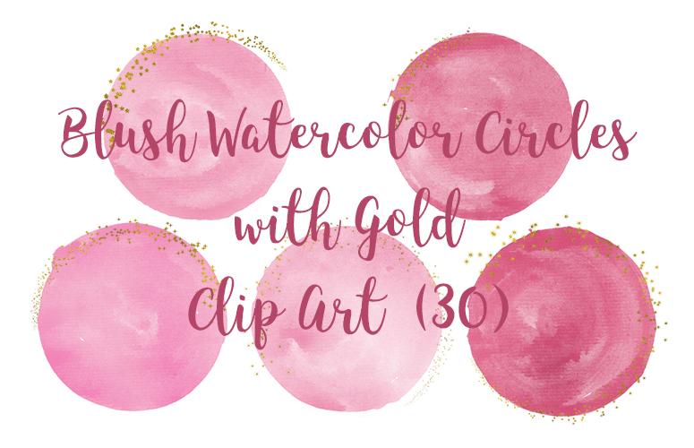 Watercolor Circles Clipart, Transparent PNG