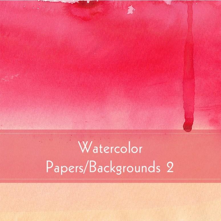 Watercolor Backgrounds Set 2