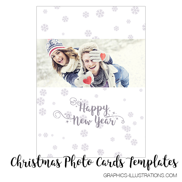Christmas Photo Card Templates