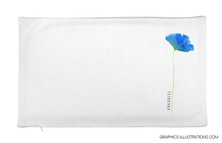 Paradise by BSILVIA - Premium Pillow Case only