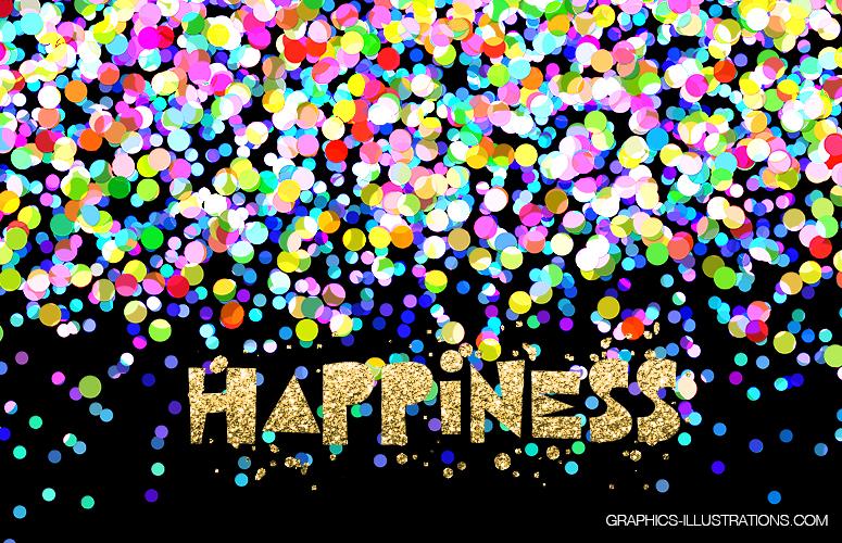 Colorful Confetti Overlays