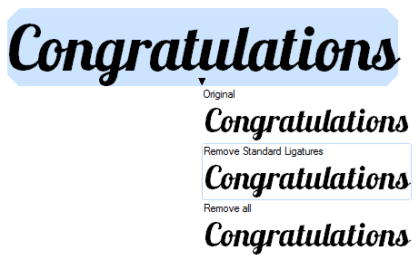 Do More With Your Text Using OpenType Features in CorelDRAW X6