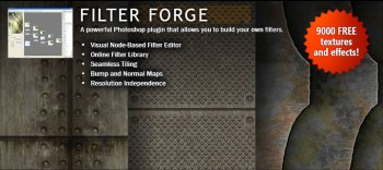 Filter Forge Plug-In Has More Than 9000 Textures and Effects