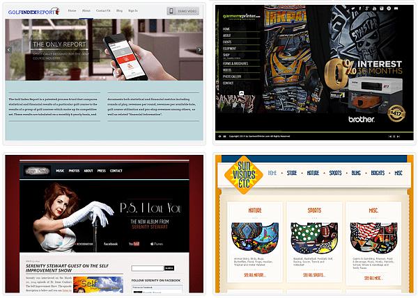 web-portfolio-screenshots