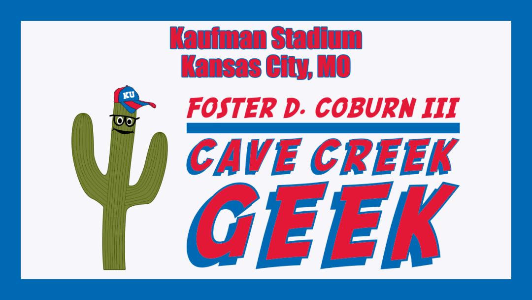 Cave Creek Geek Goes to Kaufman Stadium