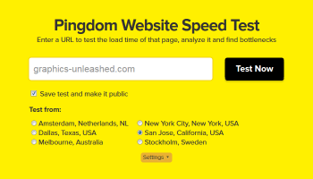 Testing Web Site Speed to Identify Slow Elements
