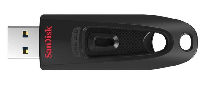 SanDisk Ultra CZ48 64GB USB 3.0 Flash Drive