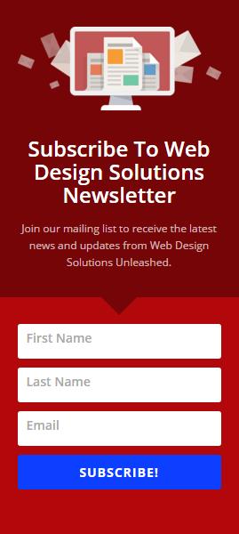 web-design-signup-form