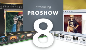 Photodex ProShow 8 Is Now Available