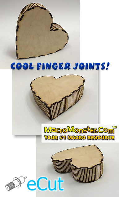 New Update for e-Cut – Cool Finger joints