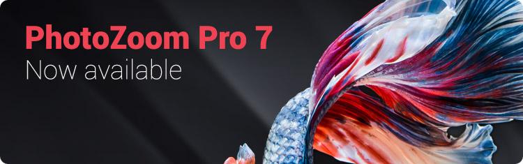 BenVista Releases PhotoZoom Pro 7 Image Resizing Software
